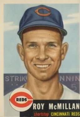 1953 Topps #259 Roy McMillan DP