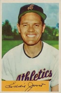 1954 Bowman #35A Eddie Joost Quiz Answer is 8