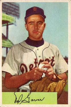 1954 Bowman #39 Ned Garver