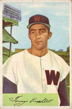 1954 Bowman #88 Tom Umphlett RC