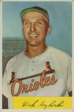 1954 Bowman #117 Dick Kryhoski