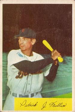 1954 Bowman #151 Pat Mullin