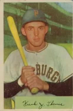 1954 Bowman #155 Frank Thomas RC