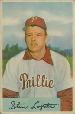 1954 Bowman #207 Stan Lopata