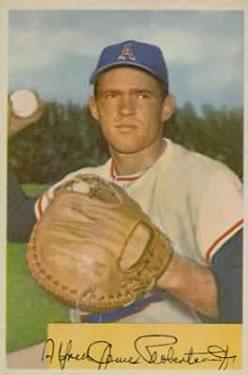 1954 Bowman #211 Al Robertson RC