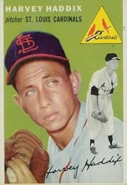 1954 Topps #9 Harvey Haddix
