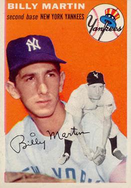 1954 Topps #13 Billy Martin