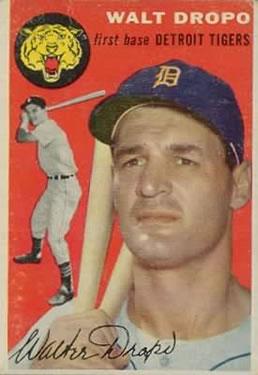 1954 Topps #18 Walt Dropo