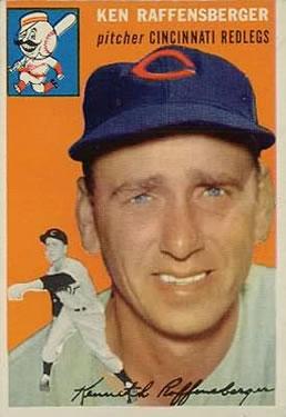 1954 Topps #46 Ken Raffensberger