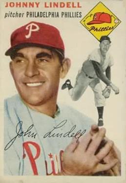 1954 Topps #51 Johnny Lindell