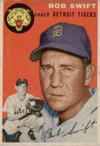 1954 Topps #65 Bob Swift CO