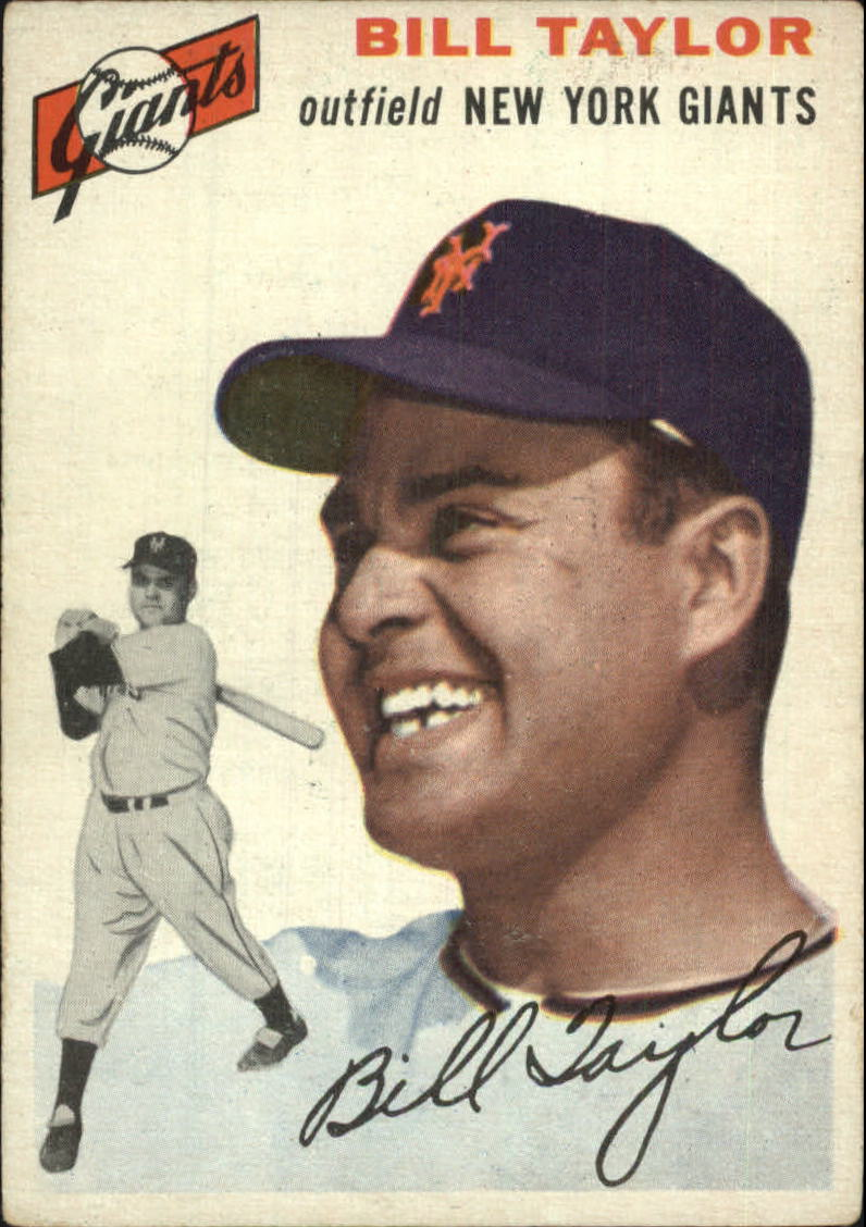 1954 Topps #74 Bill Taylor RC