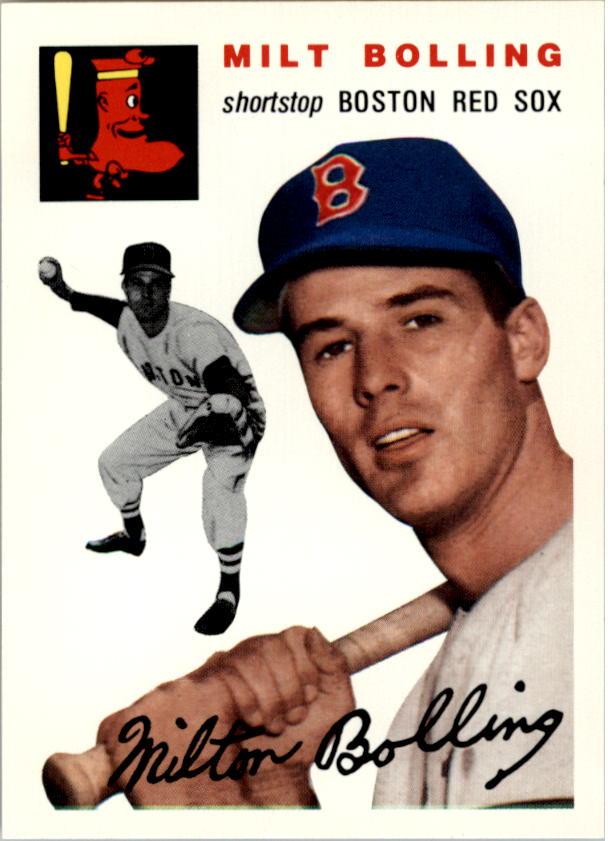 1954 Topps #82 Milt Bolling