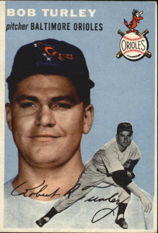 1954 Topps #85 Bob Turley RC