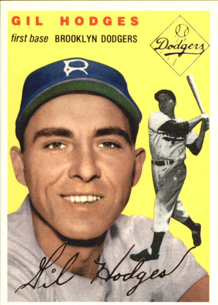 1954 Topps #102 Gil Hodges