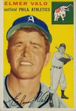 1954 Topps #145 Elmer Valo