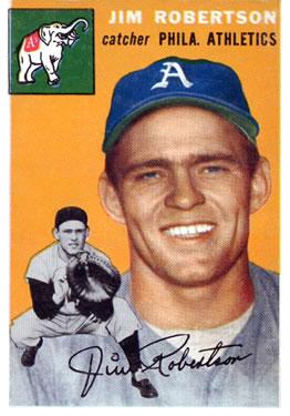 1954 Topps #149 Al Robertson