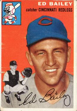 1954 Topps #184 Ed Bailey