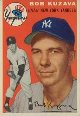 1954 Topps #230 Bob Kuzava