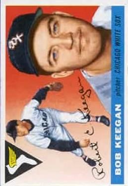 1955 Topps #10 Bob Keegan