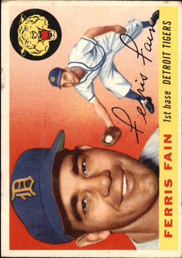 1955 Topps #11 Ferris Fain