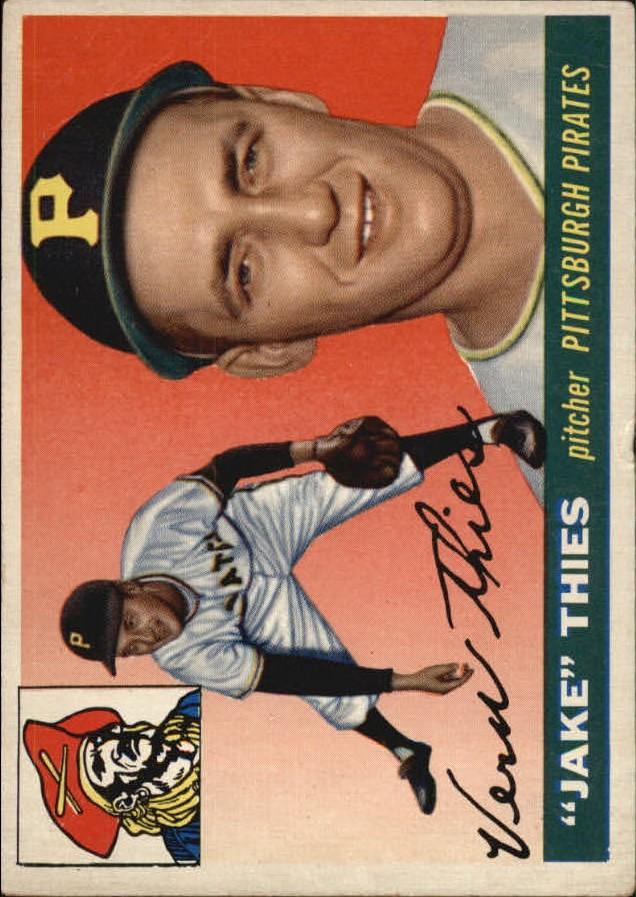 1955 Topps #12 Vernon Jake Thies RC