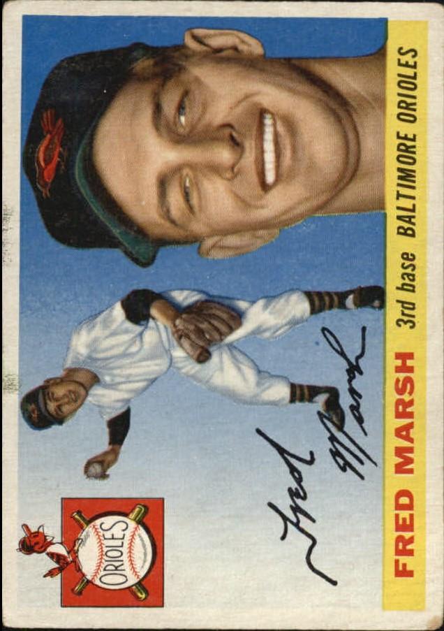 1955 Topps #13 Fred Marsh