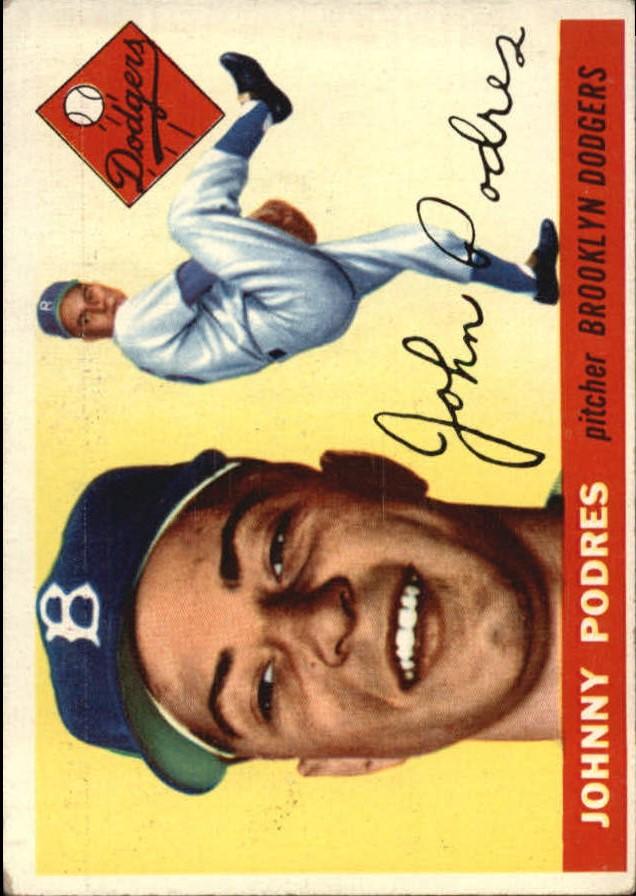 1955 Topps #25 Johnny Podres