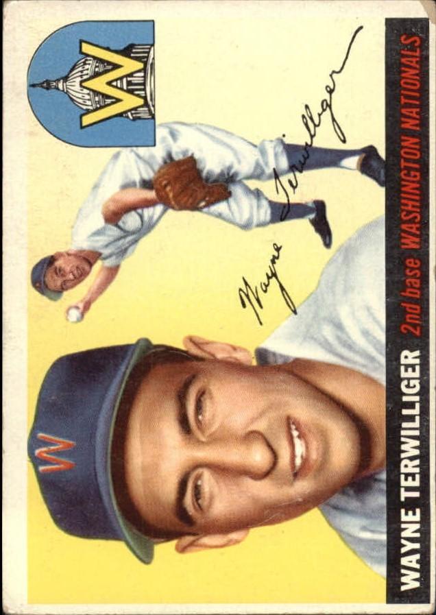 1955 Topps #34 Wayne Terwilliger