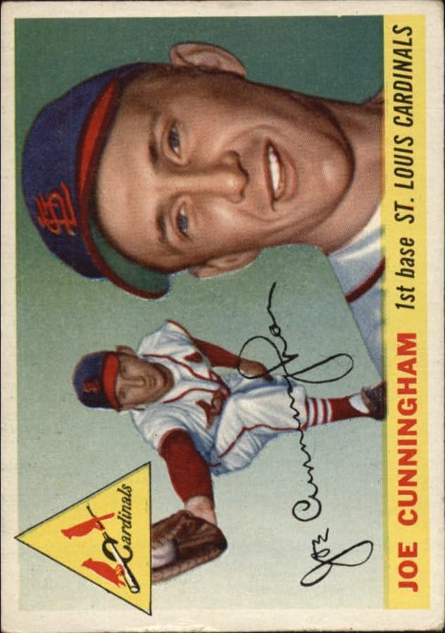 1955 Topps #37 Joe Cunningham RC
