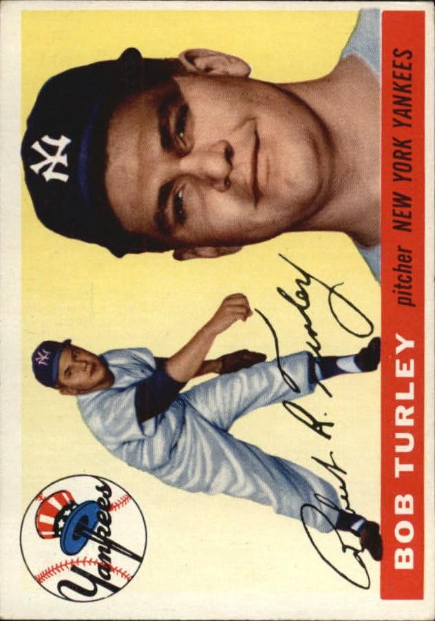 1955 Topps #38 Bob Turley