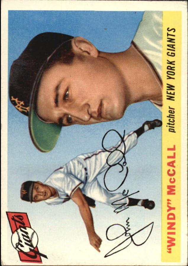 1955 Topps #42 John Windy McCall RC
