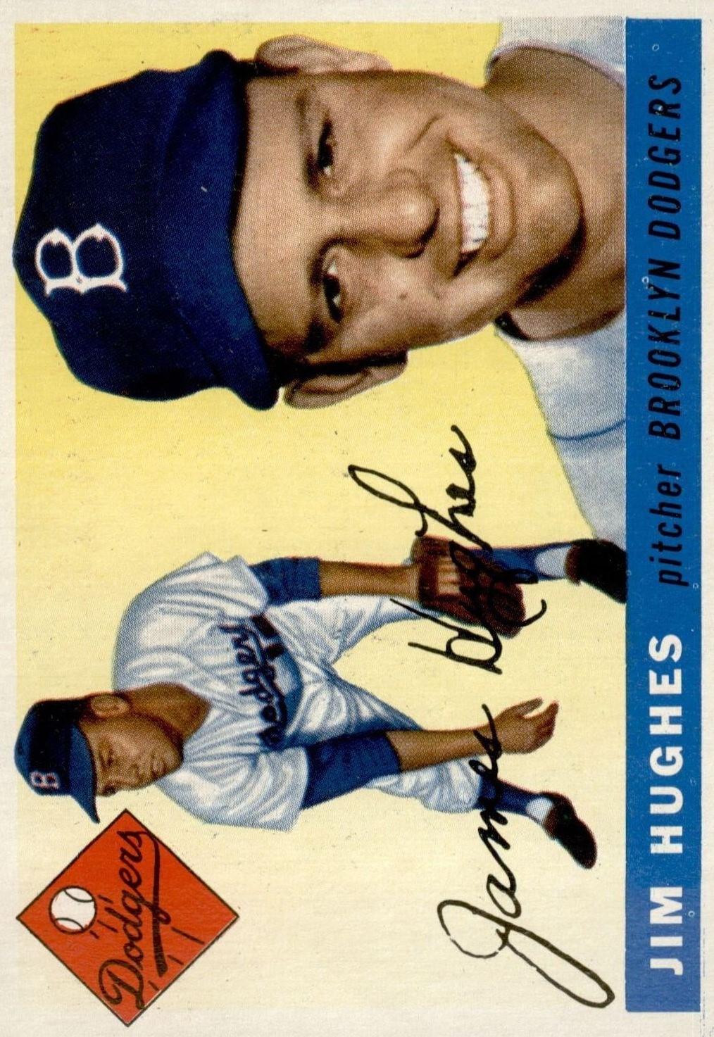 1955 Topps #51 Jim Hughes