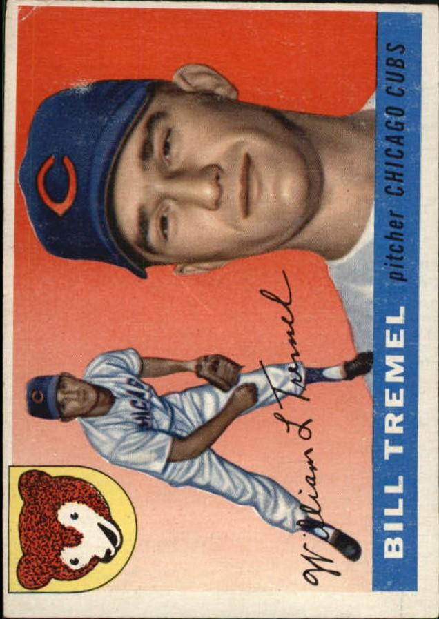 1955 Topps #52 Bill Tremel RC