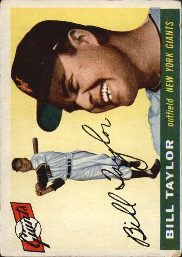 1955 Topps #53 Bill Taylor
