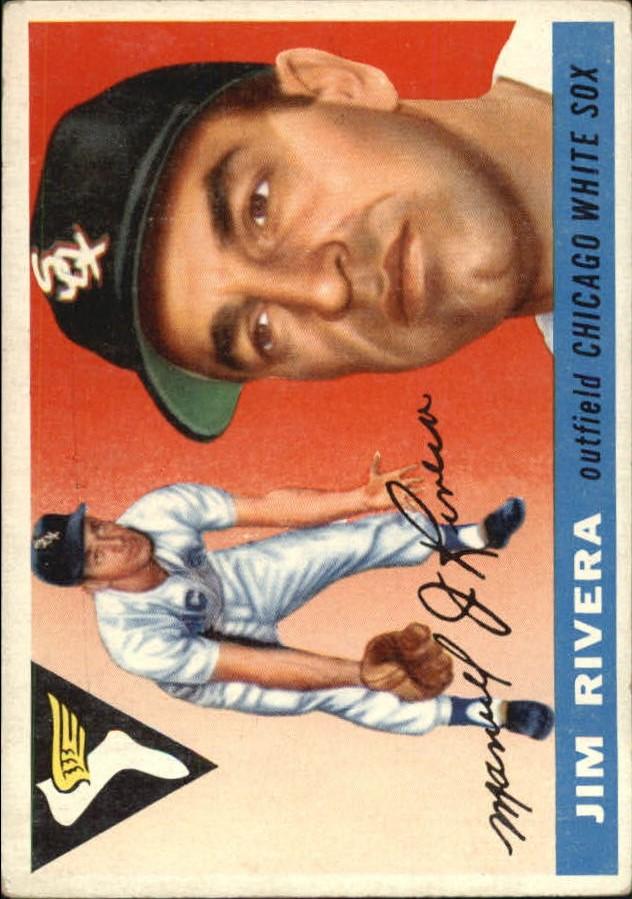 1955 Topps #58 Jim Rivera
