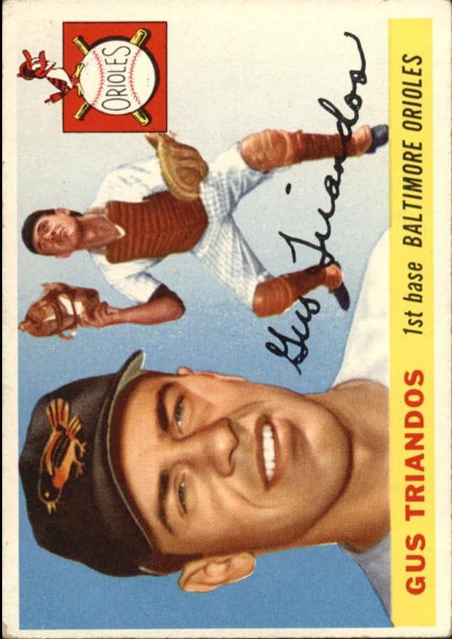 1955 Topps #64 Gus Triandos RC