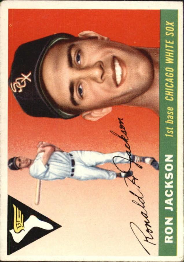 1955 Topps #66 Ron Jackson RC