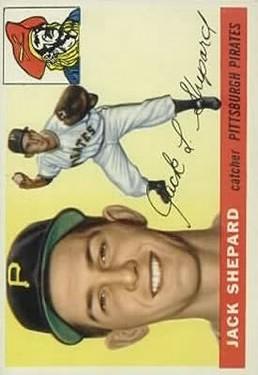 1955 Topps #73 Jack Shepard RC