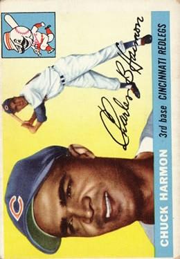1955 Topps #82 Chuck Harmon