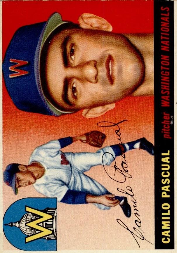 1955 Topps #84 Camilo Pascual RC