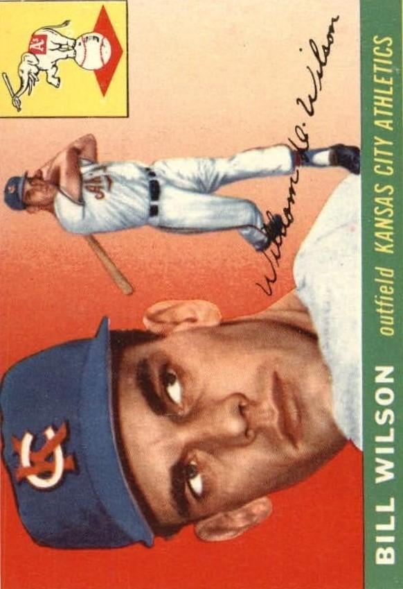 1955 Topps #86 Bill Wilson