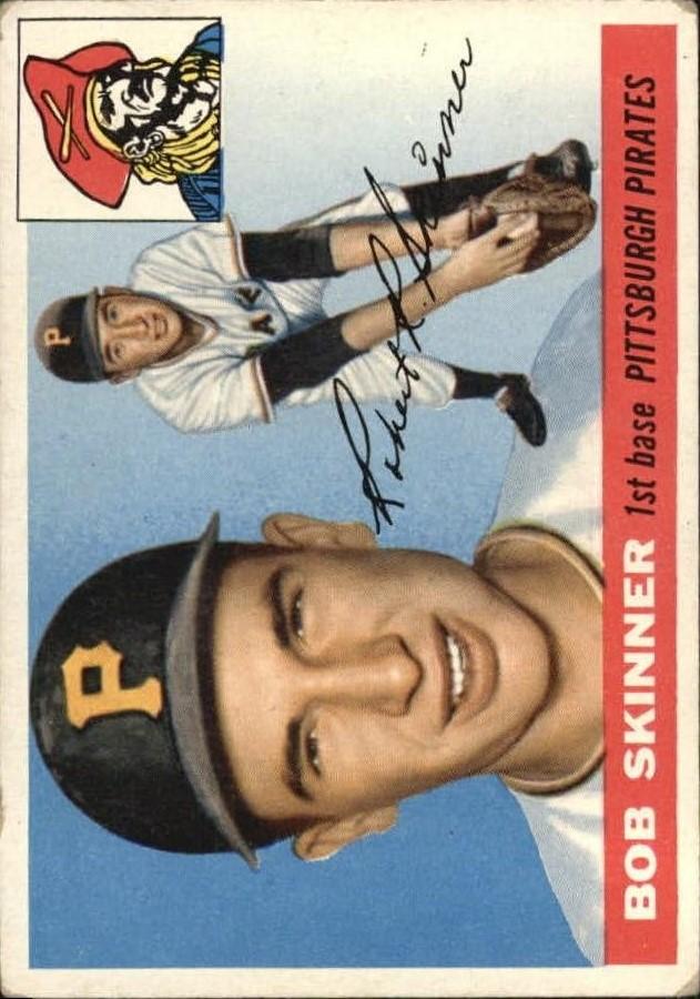 1955 Topps #88 Bob Skinner RC