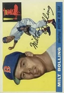 1955 Topps #91 Milt Bolling