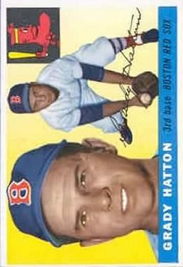 1955 Topps #131 Grady Hatton