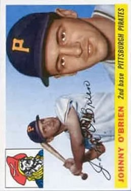 1955 Topps #135 Johnny O'Brien