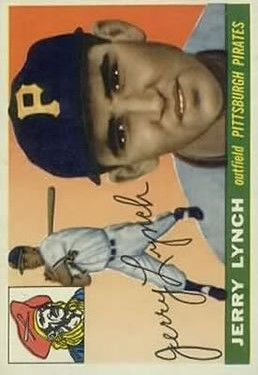 1955 Topps #142 Jerry Lynch