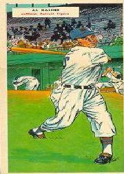 1955 Topps Double Header #45 A.Kaline/H.Valentine