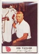 1955 Braves Johnston Cookies #51 Joe Taylor P3/(Unnumbered)