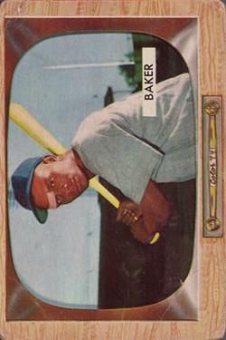 1955 Bowman #7 Gene Baker RC